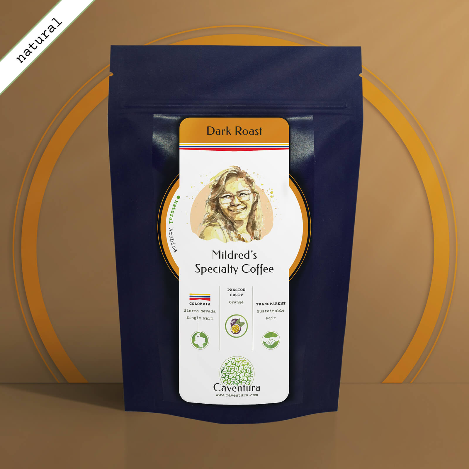 Mildred's Specialty NATURAL Coffee – Dark Roast