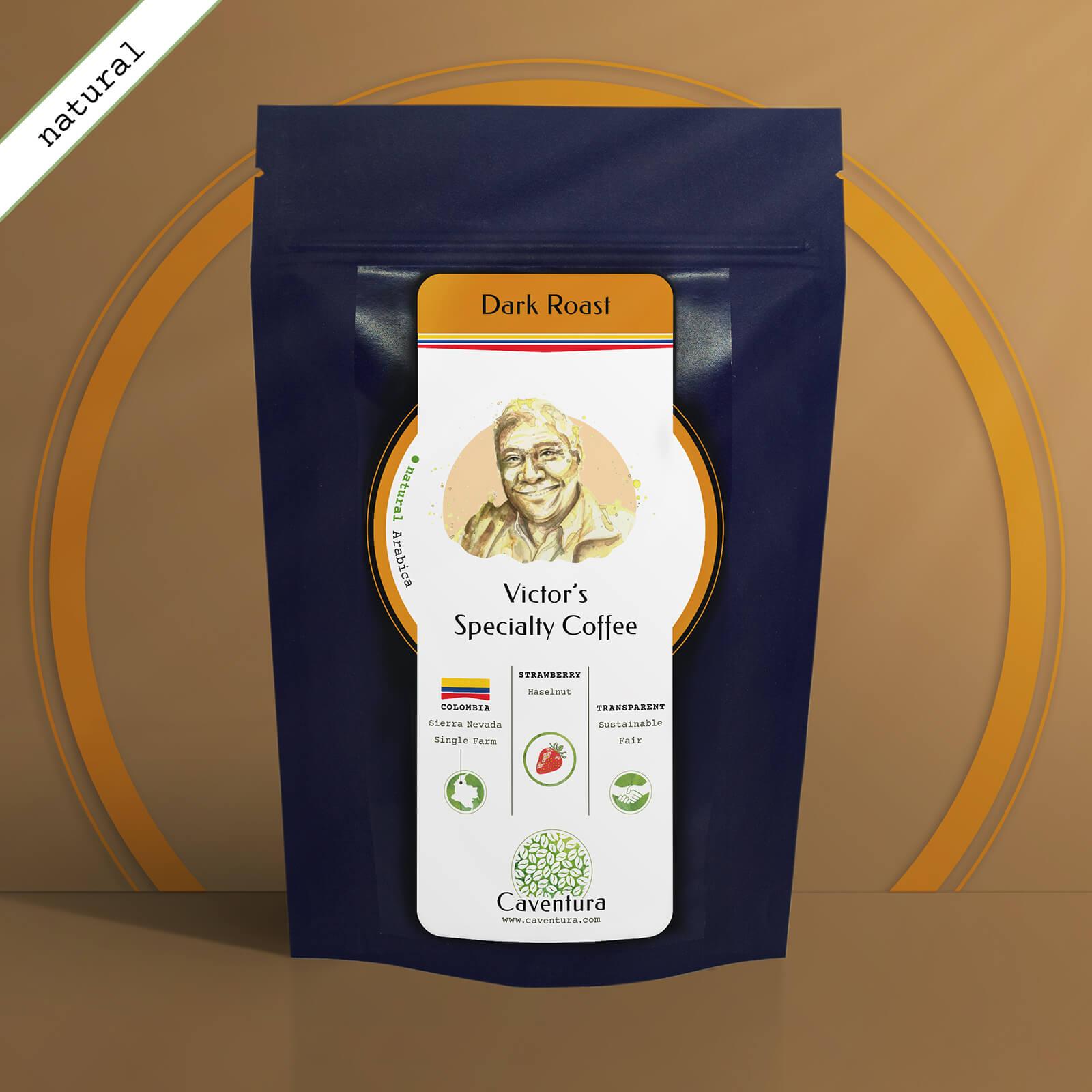 Victor's Specialty NATURAL Coffee – Dark Roast