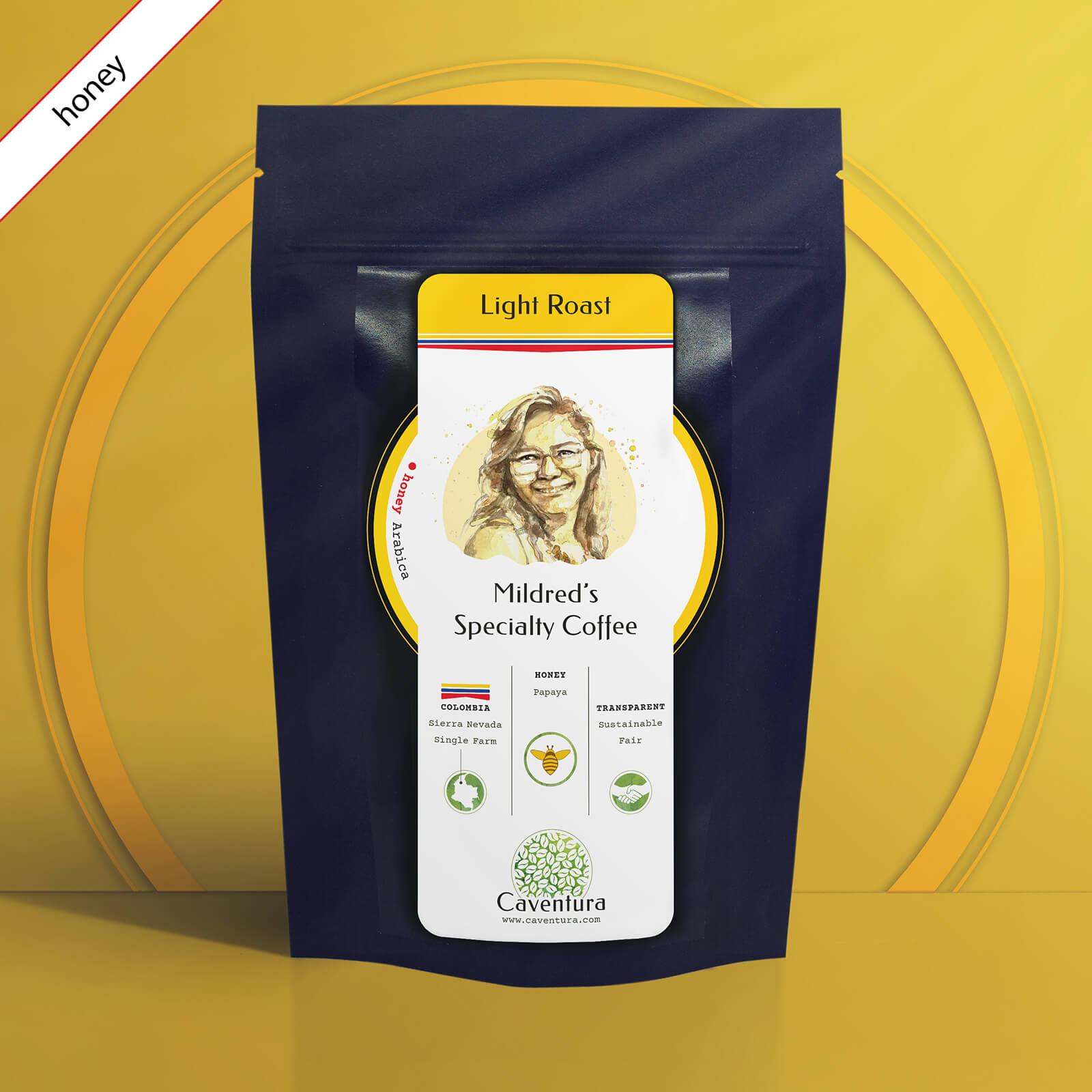 Mildred's Specialty HONEY Coffee – Light Roast